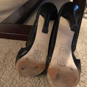 MICHAEL Michael Kors Shoes - Michael Kors Peep Toe Booties